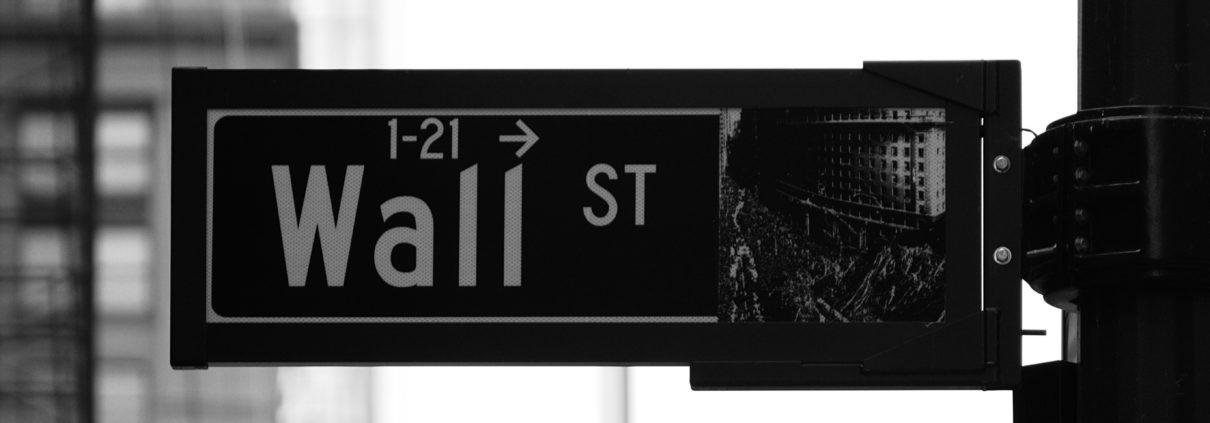 Wallstreet Strassenschild