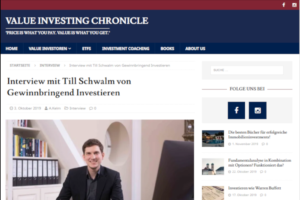 Homepage Value Investing Chronicle